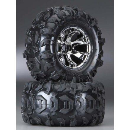 Tires & wheels, assembled