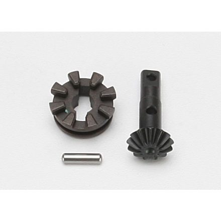 Gear, locking differential output