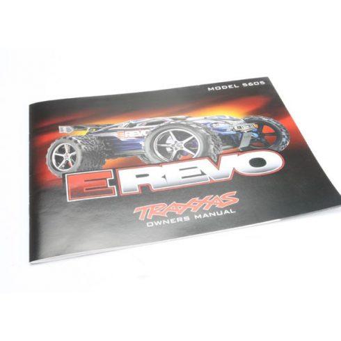 Traxxas Owner's Manual, E-Revo®