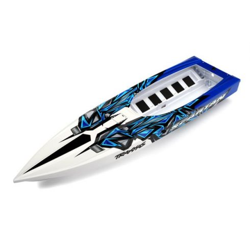 Traxxas Hull, Spartan, blue graphics (fully assembled)