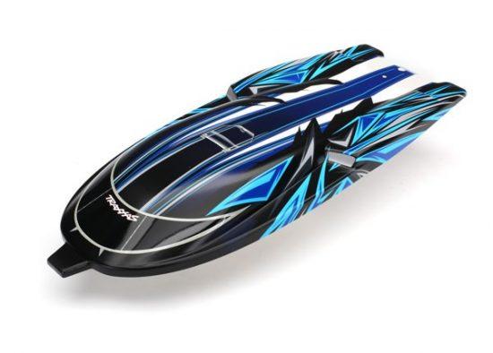 Traxxas Hatch, Spartan, blue graphics