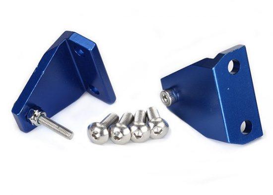 Traxxas Trim tab adjuster (2)/ 4x12mm BCS stainless (4)/ 3x18mm BCS (stainless) (2)/ NL 3.0 (2)
