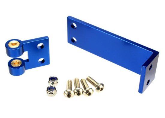 Traxxas Rudder mount/ rudder pivot/ 4x14mm BCS (stainless) (4)/ NL 4.0 (2)