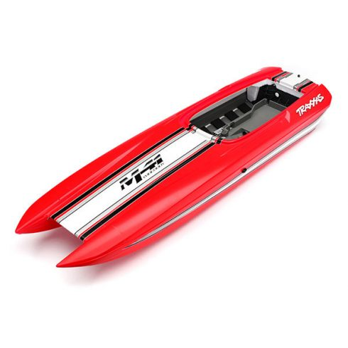 Traxxas Hull, DCB M41, red (fully assembled)
