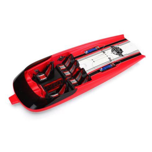 Traxxas Hatch, DCB M41, red (fully assembled)