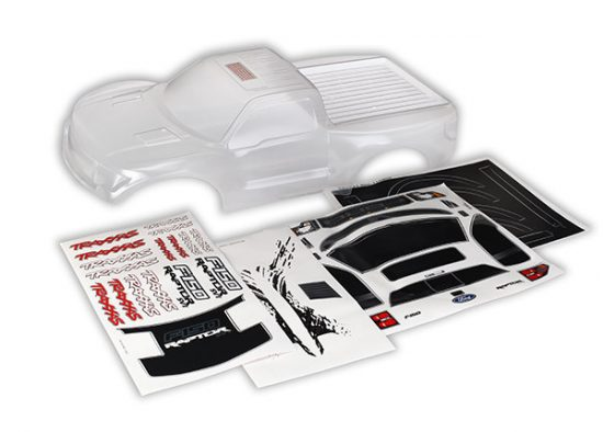 Traxxas Body, Ford Raptor® (first generation) (clear, requires painting)