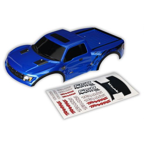 Traxxas Body, Ford Raptor®, blue (first generation) (painted, decals applied)