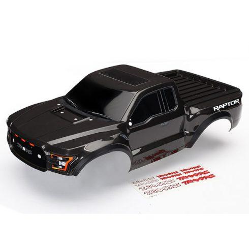 Traxxas  Body, Ford Raptor®, black (heavy duty)/ decals