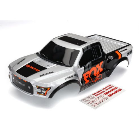 Traxxas Body, Ford Raptor®, Fox (heavy duty)/ decals