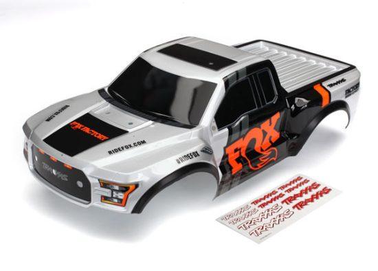 Traxxas Body, Ford Raptor®, Fox (heavy duty)/ decals