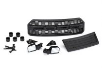 Traxxas Body accessories kit, 2017 Ford Raptor® (includes grille, hood insert, side mirrors, & mounting hardware)