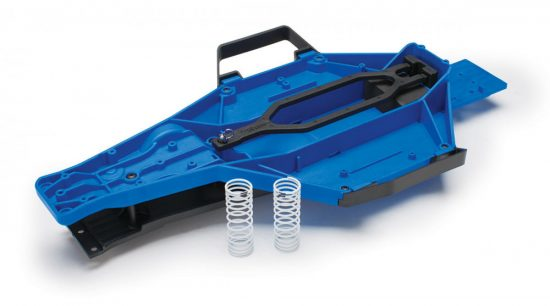 Traxxas Slash 2WD Low-CG Chassis Conversion Kit with installation hardware