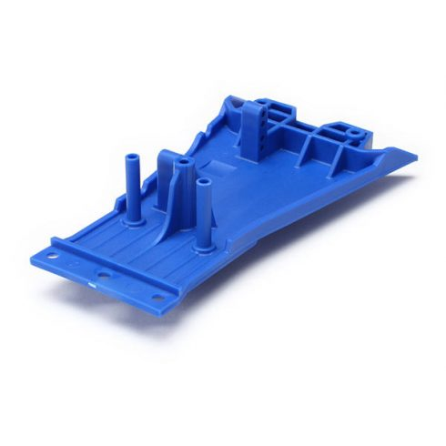 Traxxas  LOWER CHASSIS, LOW CG (BLUE)