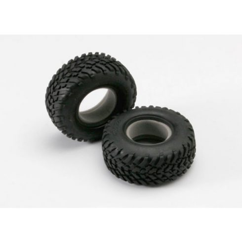 """Traxxas Tires, off-road racing, SCT dual profile 4.3x1.7- 2.2/3.0"""" (2)/ foam inserts (2)"""