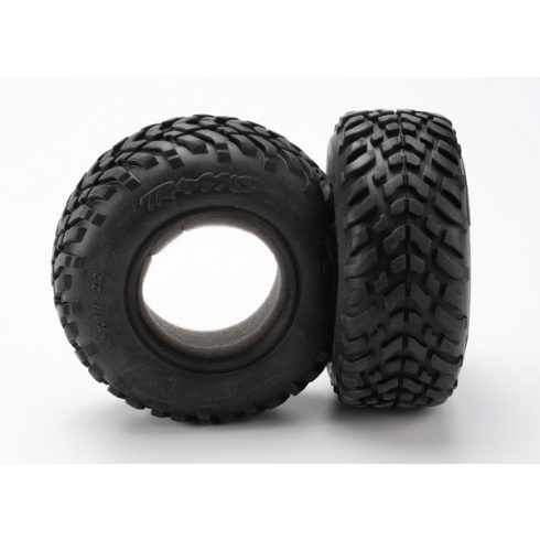 """Traxxas Tires, ultra-soft, S1 compound for off-road racing, SCT dual profile 4.3x1.7- 2.2/3.0"""" (2)/ foam inserts (2)"""