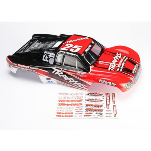 Traxxas Body, Slayer Pro 4X4, Mark Jenkins #25 (painted, decals applied)