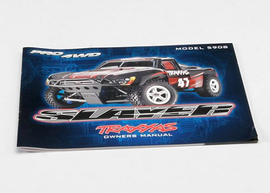 Traxxas  OWNER'S MANUAL, SLAYER