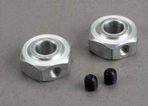 Traxxas Aluminum hex wheel hubs (2)/ 5x6 GS (2)