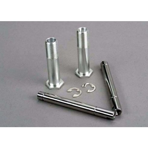 Traxxas Bellcrank shafts (2)/ E-clips (4)