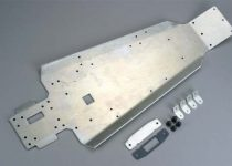 Traxxas Aluminum chassis/ cover plate/ gasket