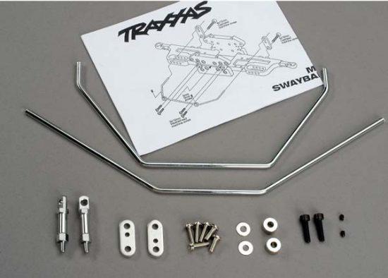 Traxxas Anti-sway bars (front & rear) w/ hardware