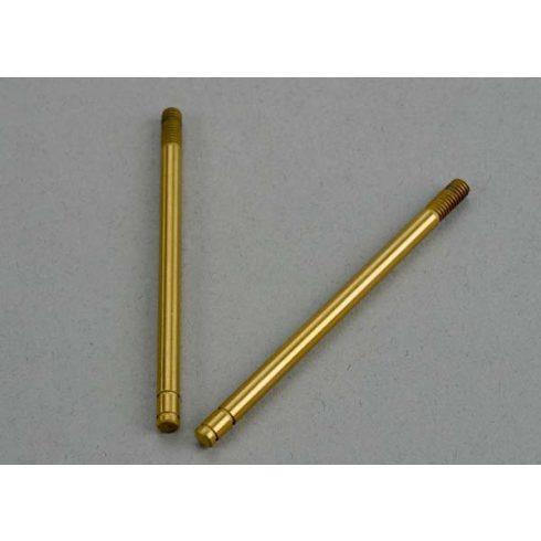 Traxxas Shock shafts, hardened steel, titanium nitride coated (front) (2)
