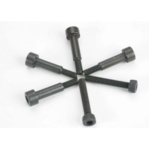 Traxxas Shoulder Screws, 4x25mm cap-head machine (6) (with 5mm shoulder for Monster Buggy)