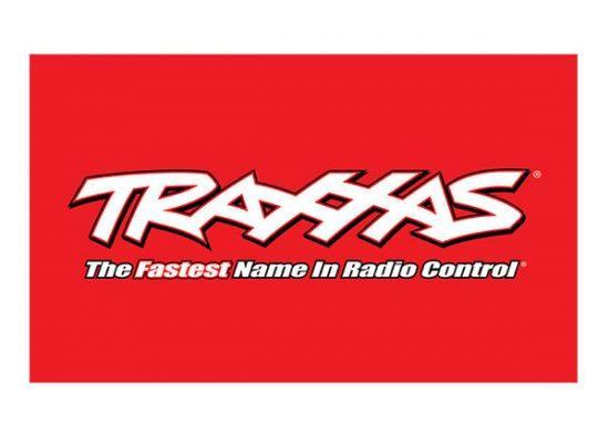 Traxxas 3' X 5' TRAXXAS® LOGO FLAG RED