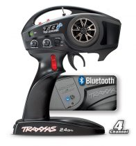 Traxxas TQi 2.4GHz (4-Channel) Intelligent Radio System Compatible with Traxxas Stability Management Receiver