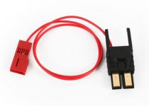 Traxxas Connector, power tap (with cable) (long)/ wire tie