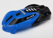 Traxxas Canopy, Alias®, blue/ 1.6x5mm BCS (self-tapping) (3)