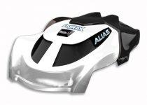 Traxxas Canopy, Alias®, white/ 1.6x5mm BCS (self-tapping) (3)