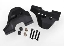 Traxxas Suspension arm guards, front (2)/ guard spacers (2)/ hollow balls (2)/ 3X16mm BCS (8)