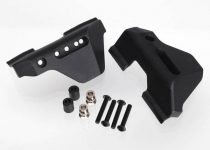 Traxxas Suspension arm guards, rear (2)/ guard spacers (2)/ hollow balls (2)/ 3X16mm BCS (8)