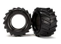 """Traxxas Tires, Maxx® 2.8"""" (2)/ foam inserts (2)"""