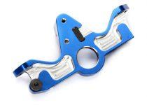 Traxxas Motor mount, 6061-T6 aluminum (blue-anodized)