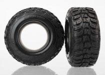 "Traxxas Tires, Kumho (dual profile 4.3x1.7- 2.2/3.0"") (2)/ foam inserts (2)"
