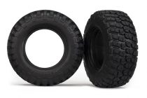 "Traxxas Tires, BFGoodrich® Mud-Terrain T/A® KM2 , ultra-soft (S1 off-road racing compound) (dual profile 4.3x1.7- 2.2/3.0"") (2)/ foam inserts (2)"