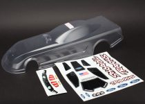 Traxxas  Body, Ford Mustang (clear, requires painting)/ decals