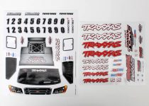 Traxxas Decal sheets, 1/16 Slash 4WD team truck