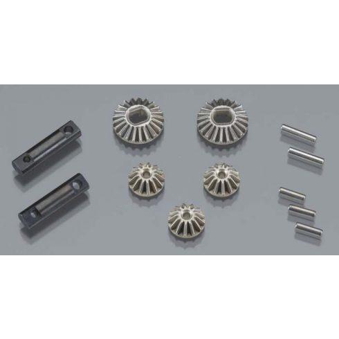 Gear set, differential