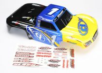 Traxxas  Body, Jerry Whelchel Huffman Motorsports, 1/16 Slash (graphics are painted and decals applied)