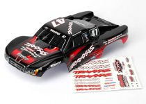 Traxxas Body, Mike Jenkins #47, 1/16 Slash (painted, decals applied)