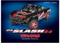 Traxxas  Owner's manual, 1/16 Slash 4WD (model 7005)