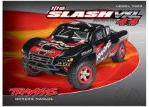 Traxxas Owner's manual, 1/16 Slash 4WD VXL (model 7009)