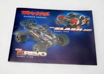 Traxxas Owner's manual, 1/16 E-Revo/ Slash 4WD