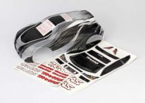 Traxxas Body, Traxxas® Rally, ProGraphix® (Graphics are printed, requires paint & final color application)/ decal sheet