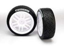 Traxxas  Tires and wheels, assembled, glued (Rally wheels, BFGoodrich® Rally tires) (2)