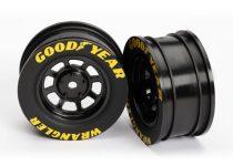 Traxxas Wheels, 8-spoke (black) (2)