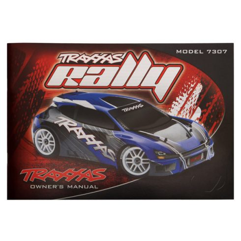 Traxxas Owner's manual, 1/16 Rally